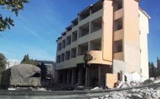 IKMT, një tjetër godinë prishet me shpërthim të kontrolluar