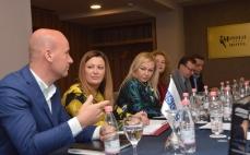 Kryeinspektorja e IKMT, Dallëndyshe Bici, sot në një takim me përfaqësues të Inspektoratit të Kosovës dhe Ministrisë së Mjedisit e Planifikimit Hapësinor 05/04/2018