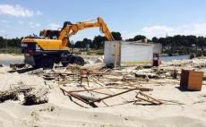 IKMT nis njё operacion nё plazhin e Hamallajt