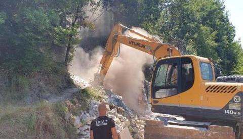 Sot në Krujë, duke prishur furrat e paligjshme të gëlqeres... 26.07.2019